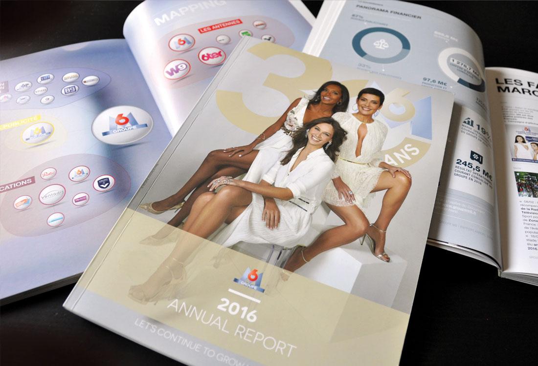 idées fraîches - Design Éditorial : Groupe M6