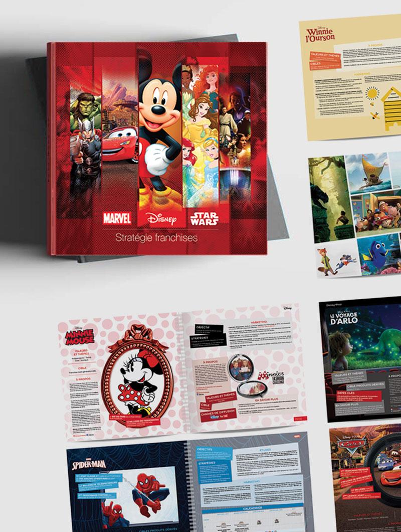 idées fraîches - Design Éditorial : Disney