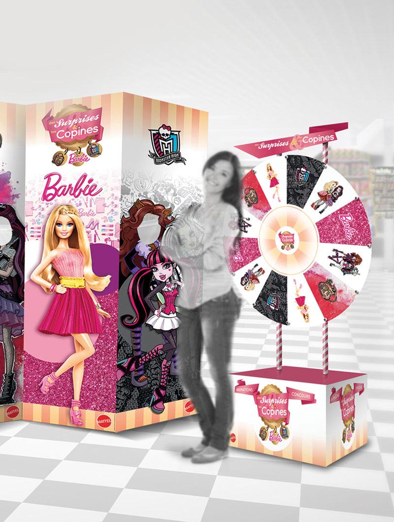 idées fraîches - Design Environnemental : Mattel