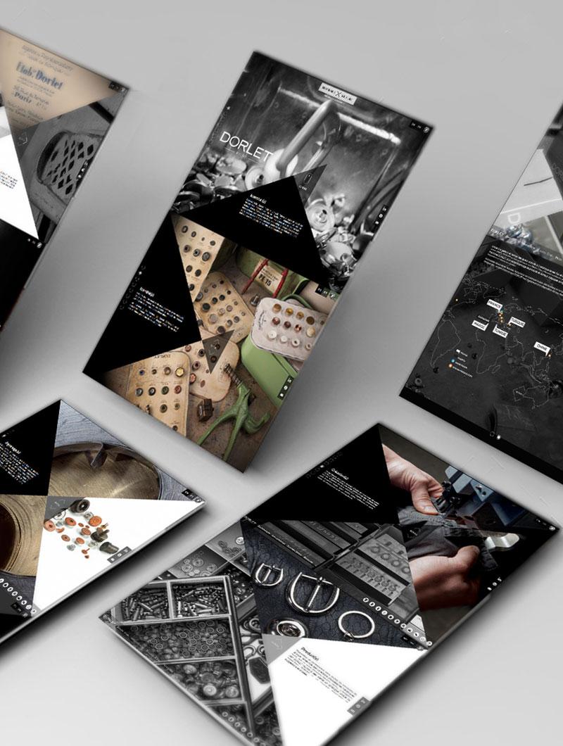 idées fraîches - Web Design : Dorlet