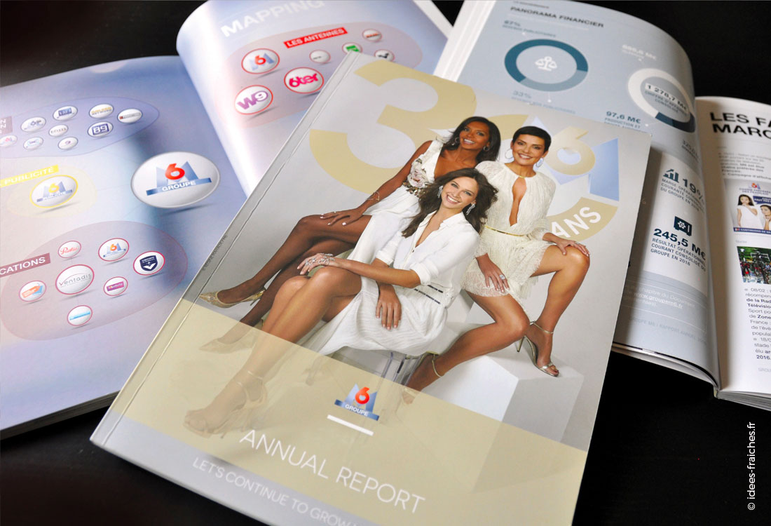 rapport annuel groupe M6