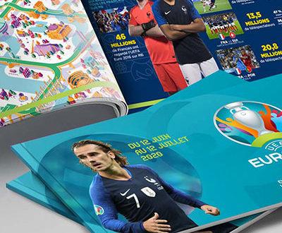 photo Griezmann mbappé brochure foot