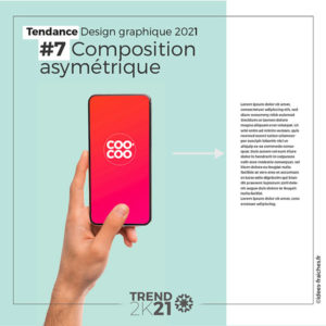 Graphiste Graphisme composition moderne 2021