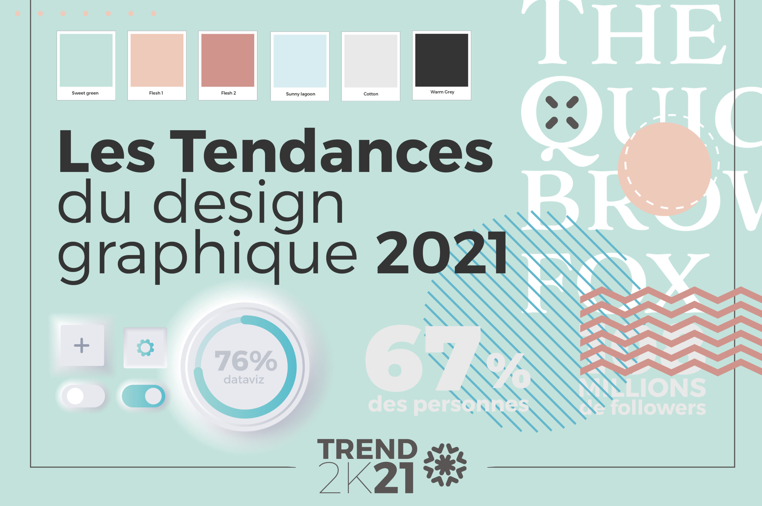 Tendances graphisme 2021